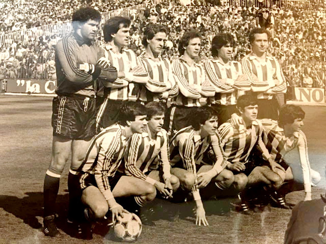 Resultado de imagen de real madrid 1 ath.bilbao 1 año 1982
